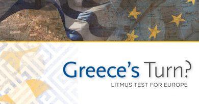 Greece's Turn? Litmus Test for Europe