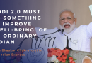 """Modi 2.0 Must Do Something to Improve """"Well-Being"""" of an Ordinary Indian"""