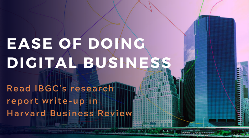 The Ease of Doing Digital Business Report