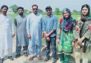Student Research: Uzair Akram Conducts Field Research in Pakistan