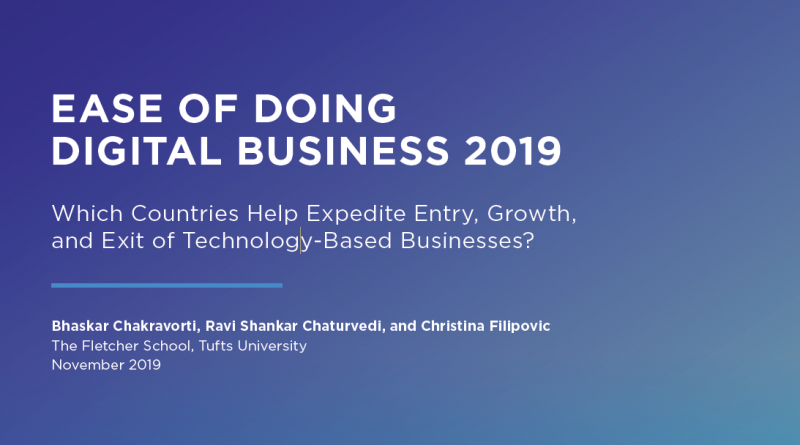 New Research: The Ease of Doing Digital Business 2019