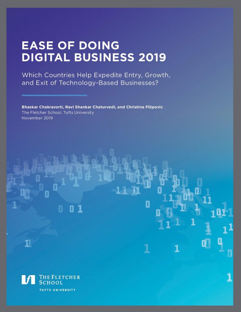 Ease of Doing Digital Business research report cover