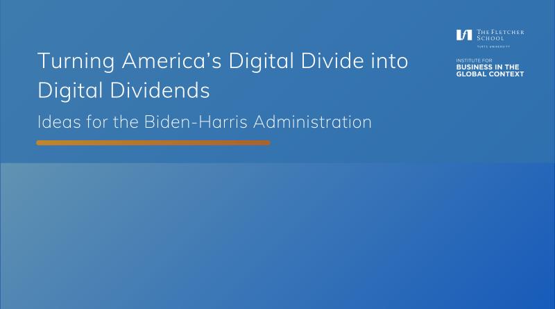 Webinar Recording: Turning America's Digital Divide into Digital Dividends