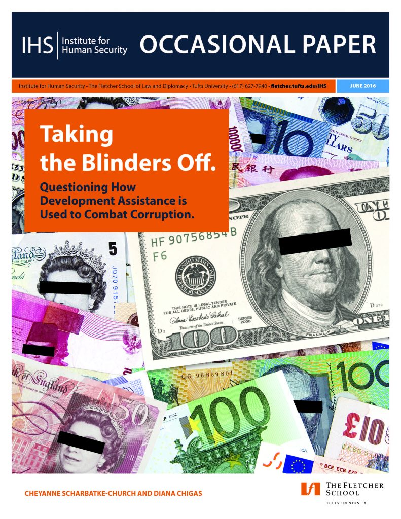 Taking the Blinders Off: Questioning How Development Assistance is Used to Combat Corruption
