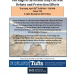 The Destruction of the Cultural Heritage of Syria and Iraq: Current Debate and Protection Efforts