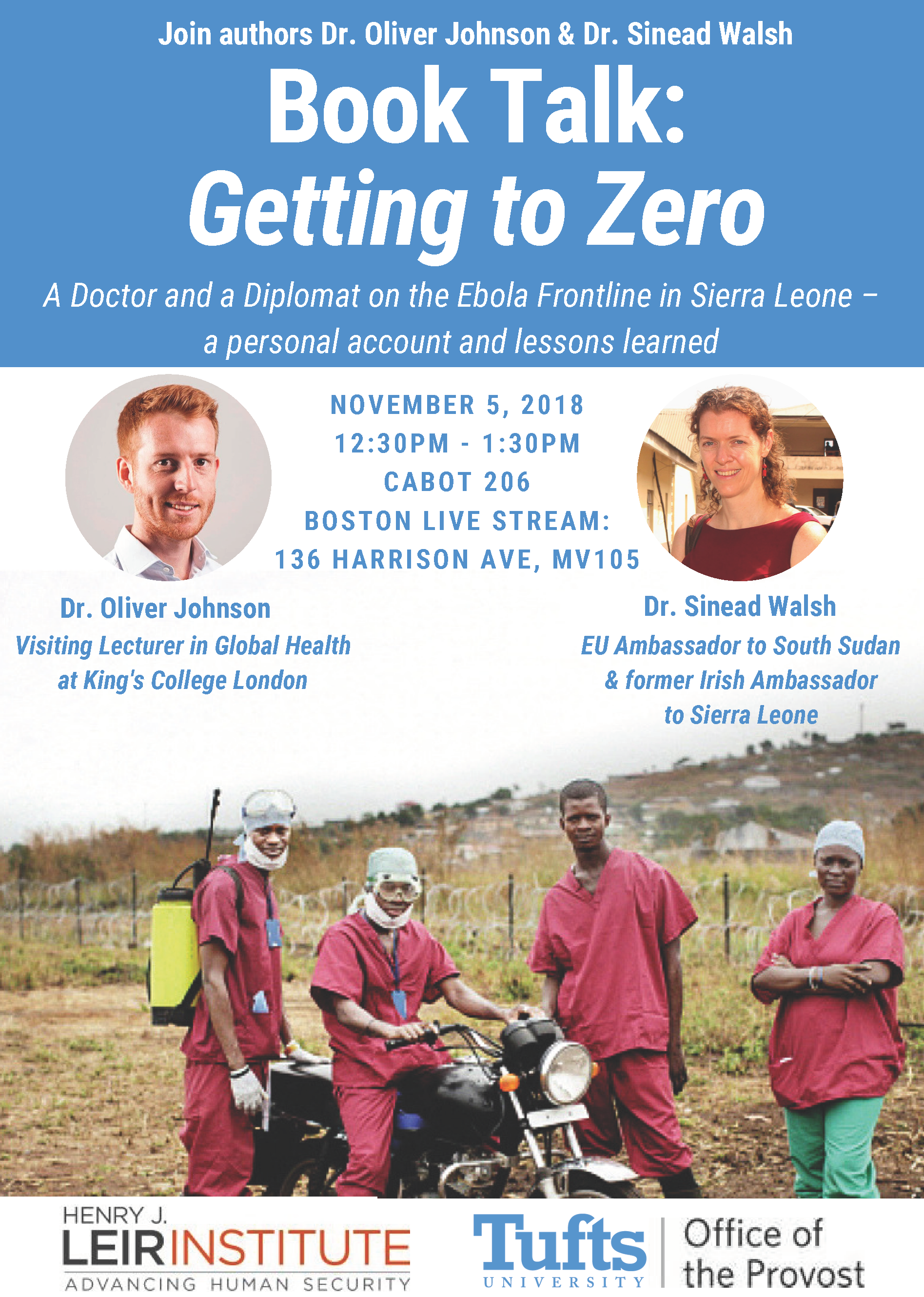 Book Talk: Getting to Zero