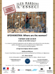 Afghan Women's Inclusion in the Peace Process: Conference June 18
