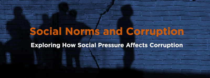 Social Norms and Corruption: How Social Pressure Affects Corruption