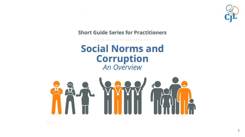 Social Norms and Corruption: An Overview