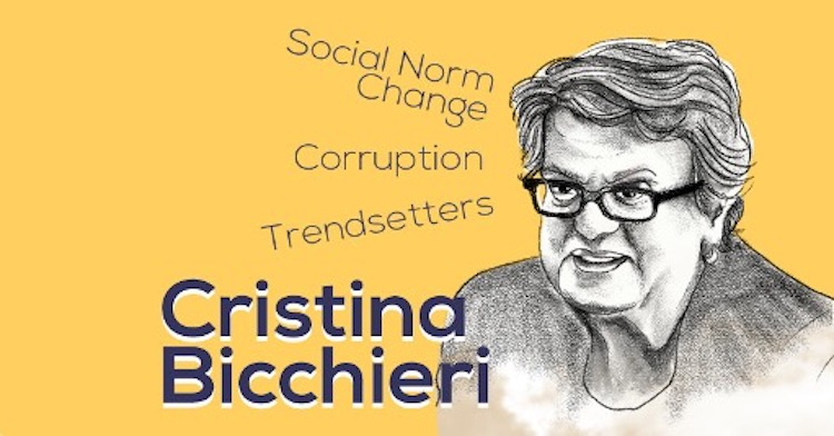 Black Boxes and Trendsetters: Social Norm Change Tips from Cristina