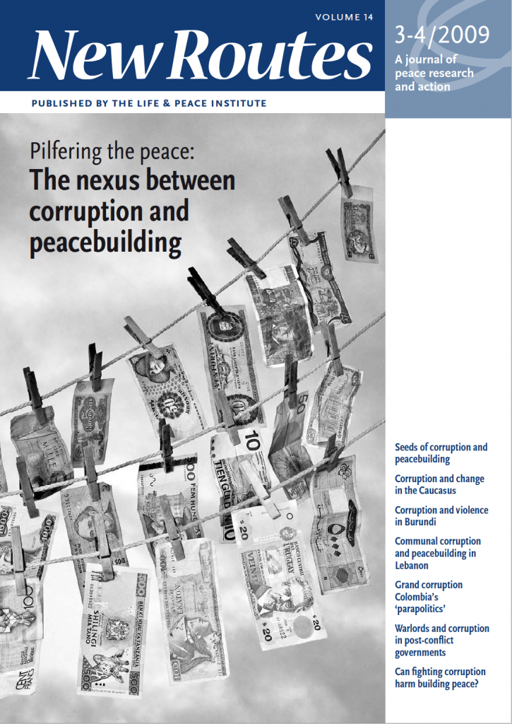 Pilfering the Peace: the nexus between corruption and peacebuilding