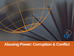 3 Things Peacebuilders Should Read About Anti-corruption and Conflict