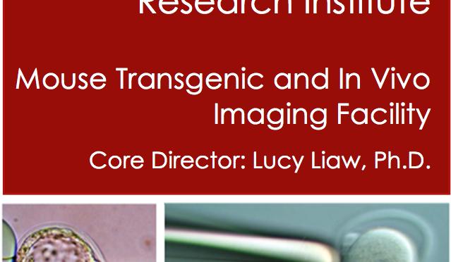 MMCRI transgenic core