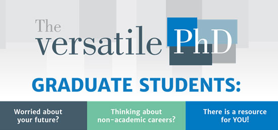 Versatile PhD – a Non Academic Career Resource for Doctoral Students