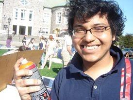 The scholar/activist as a young man