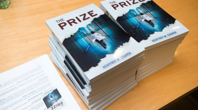"""The Prize"" by Geoffrey M. Cooper, PhD is a thriller for the dramatic scientist in all of us"