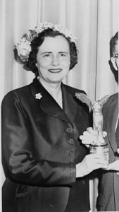 Mary Lasker. (Library of Congress)