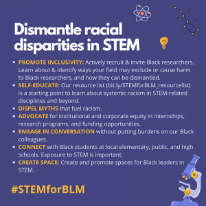 STEM Voices Unite Against Racism