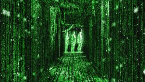 The Matrix is Made of Math
