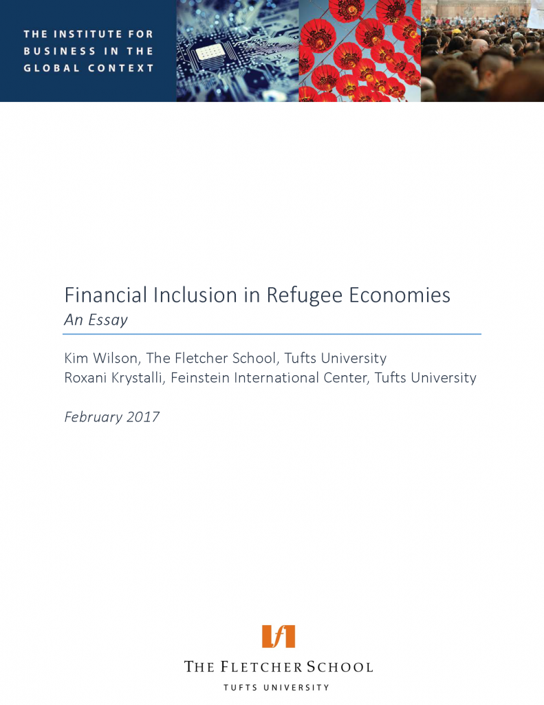 Financial Inclusion in Refugee Economies
