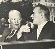 With Eisenhower