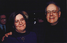 With daughter Emily, January 2000