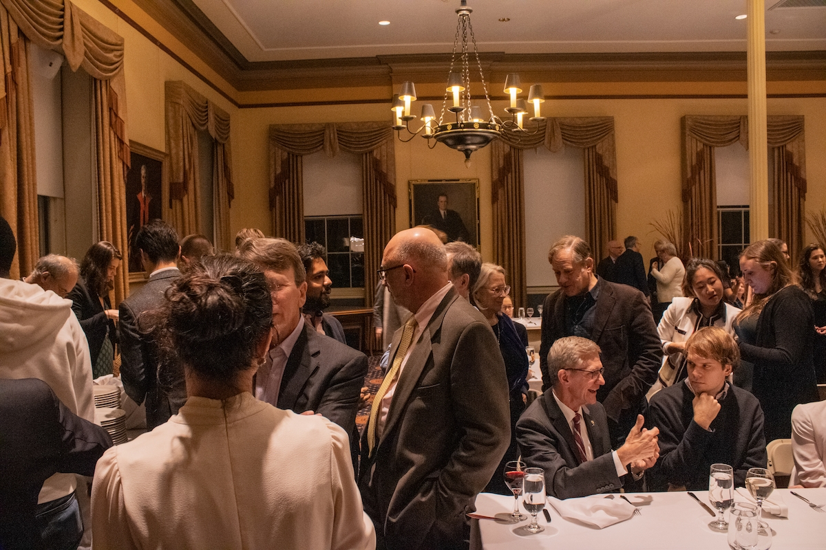 2019 Conference on New Media and Democracy Kickoff Dinner