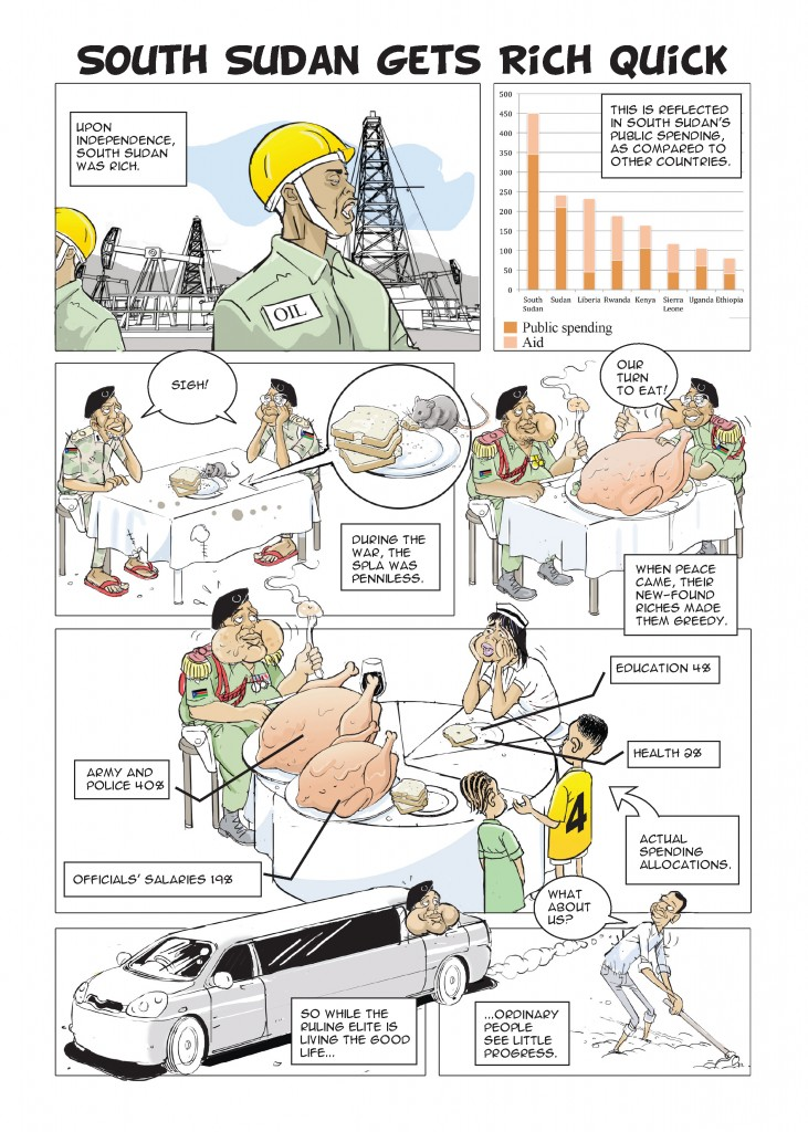 SOUTH SUDAN COMICS 2