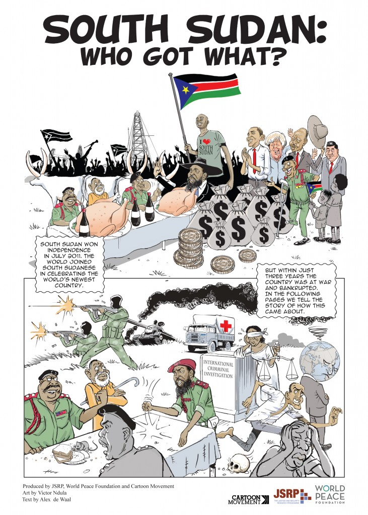 SOUTH SUDAN COMICS COVER