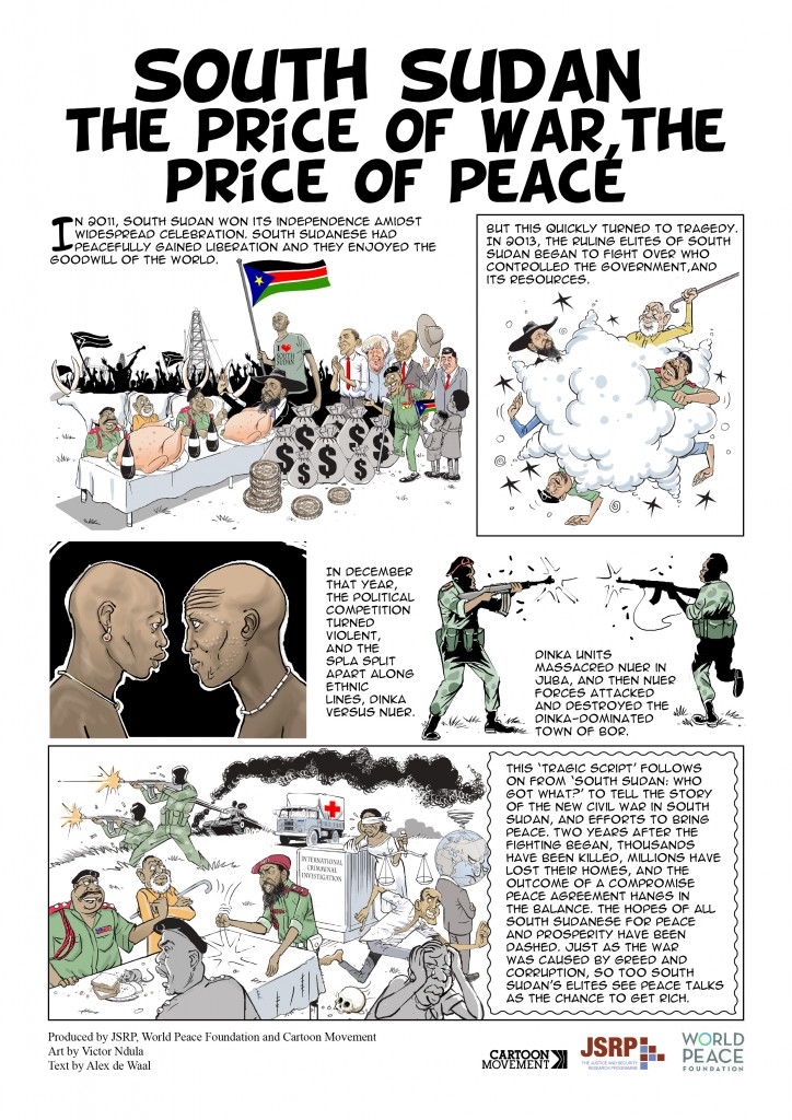 SOUTH SUDAN TWO front page
