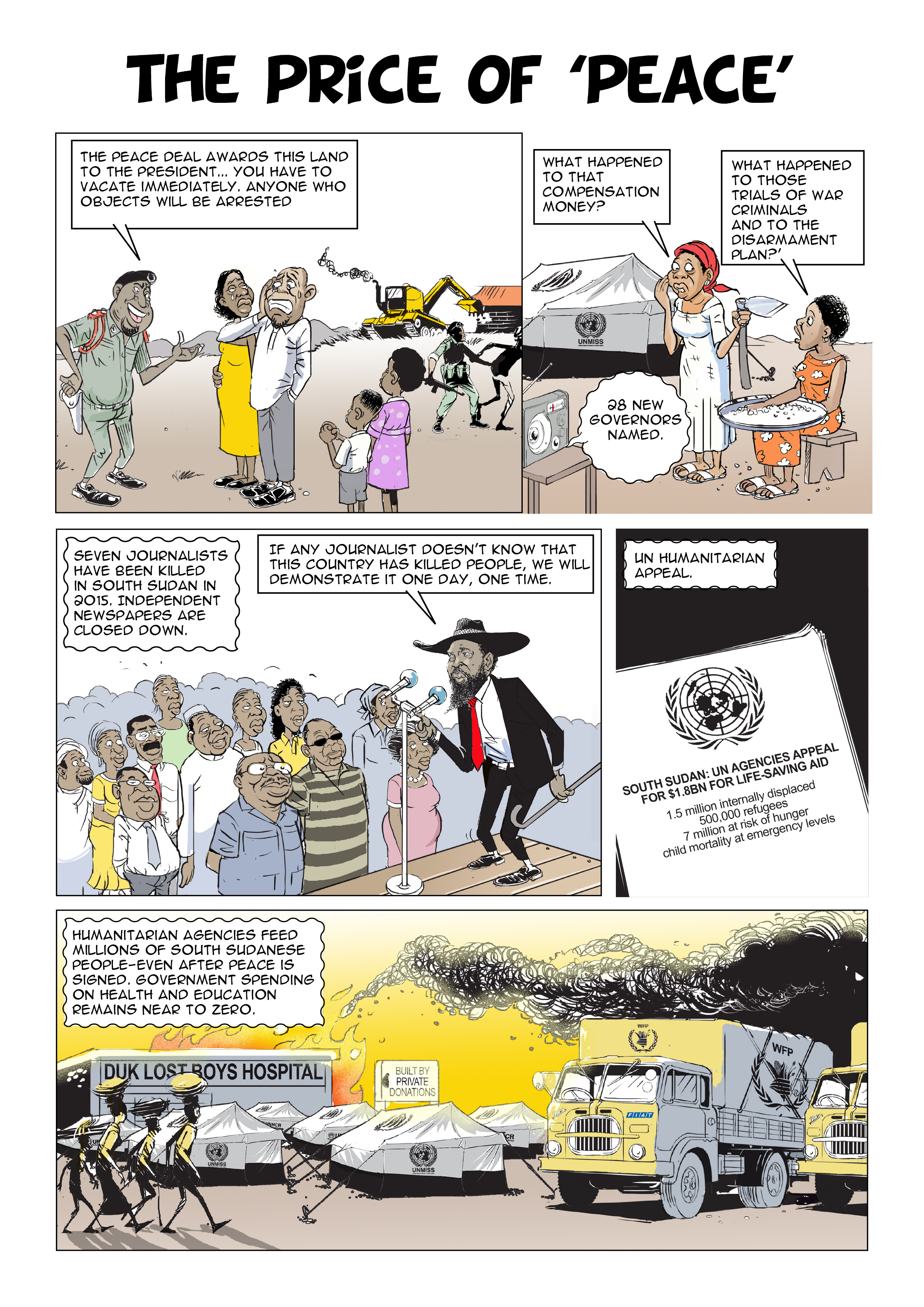 Sudan and South Sudan: From One to Two