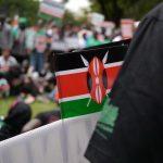 protest Kenya, Kenyan flag