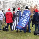 Group of Trump supporters at White House