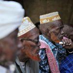 Three Somali clan elders