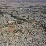 view of city of Mekele, Ethiopia