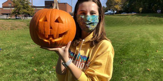 Alpha Psi Pumpkin Carving 2020