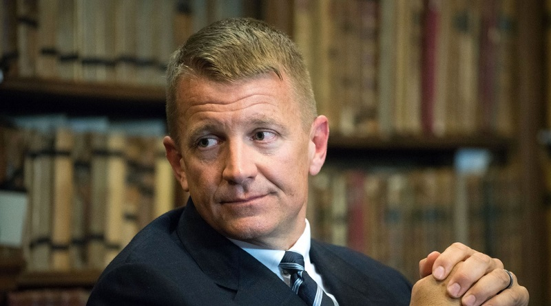 Trump Envoy Erik Prince Met with CEO of Russian Direct Investment Fund in Seychelles – The Intercept