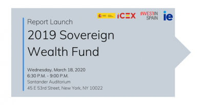 2019 Sovereign Wealth Funds Report Launch