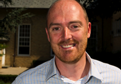 Hugh Gallagher, an Associate Professor in the Department of Physics and Astronomy