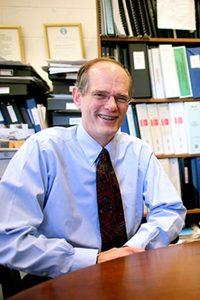 Professor David Gute, Department of Civil and Environmental Engineering (Melody Ko/Tufts University)