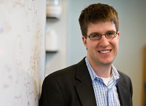 Samuel Thomas, Associate Professor in the Department of Chemistry