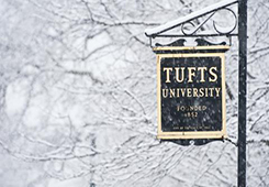 Snow at Tufts