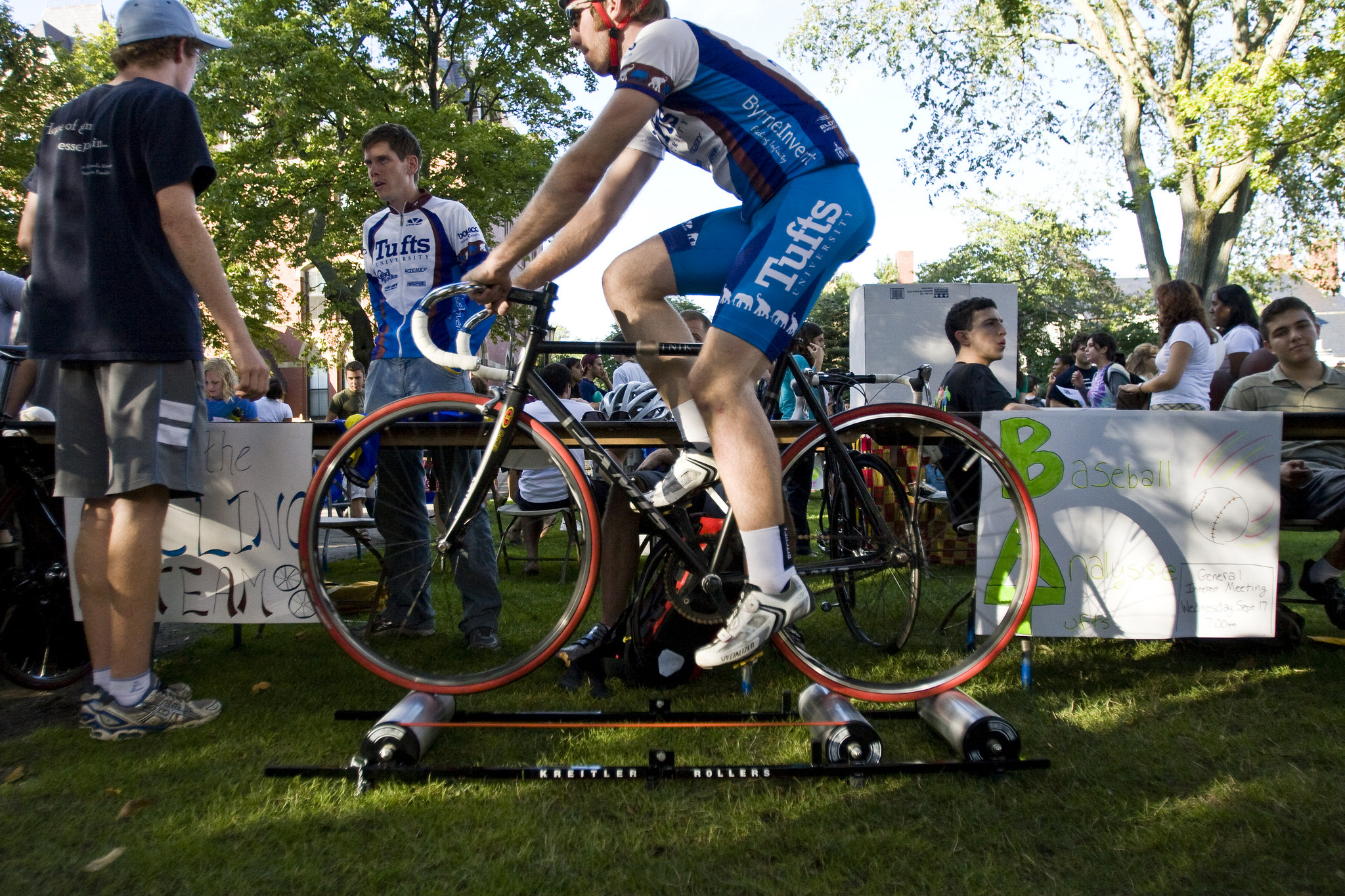 Join the 2016 Tufts Century Ride