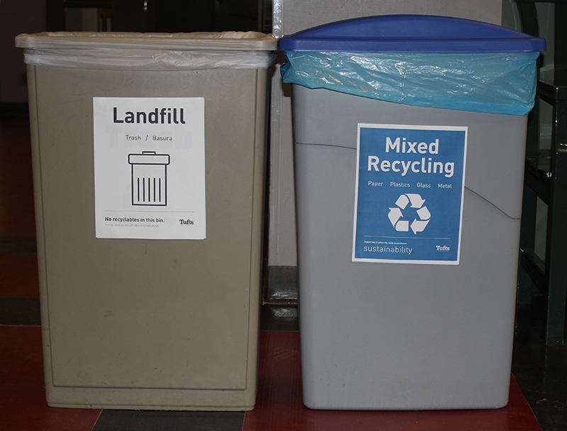 Mixed Recycling Station