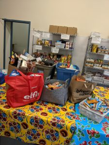 Non perishable foods taken to Project Soup