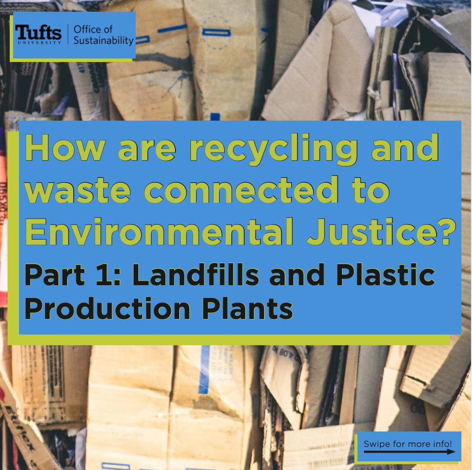 How are recycling and waste connected to environmental justice? Part 1: Landfills and Plastic Production Plants