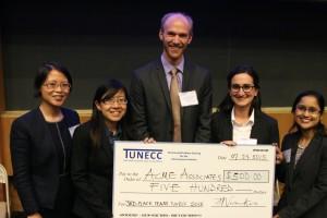 3rd Place Winners Team Acme