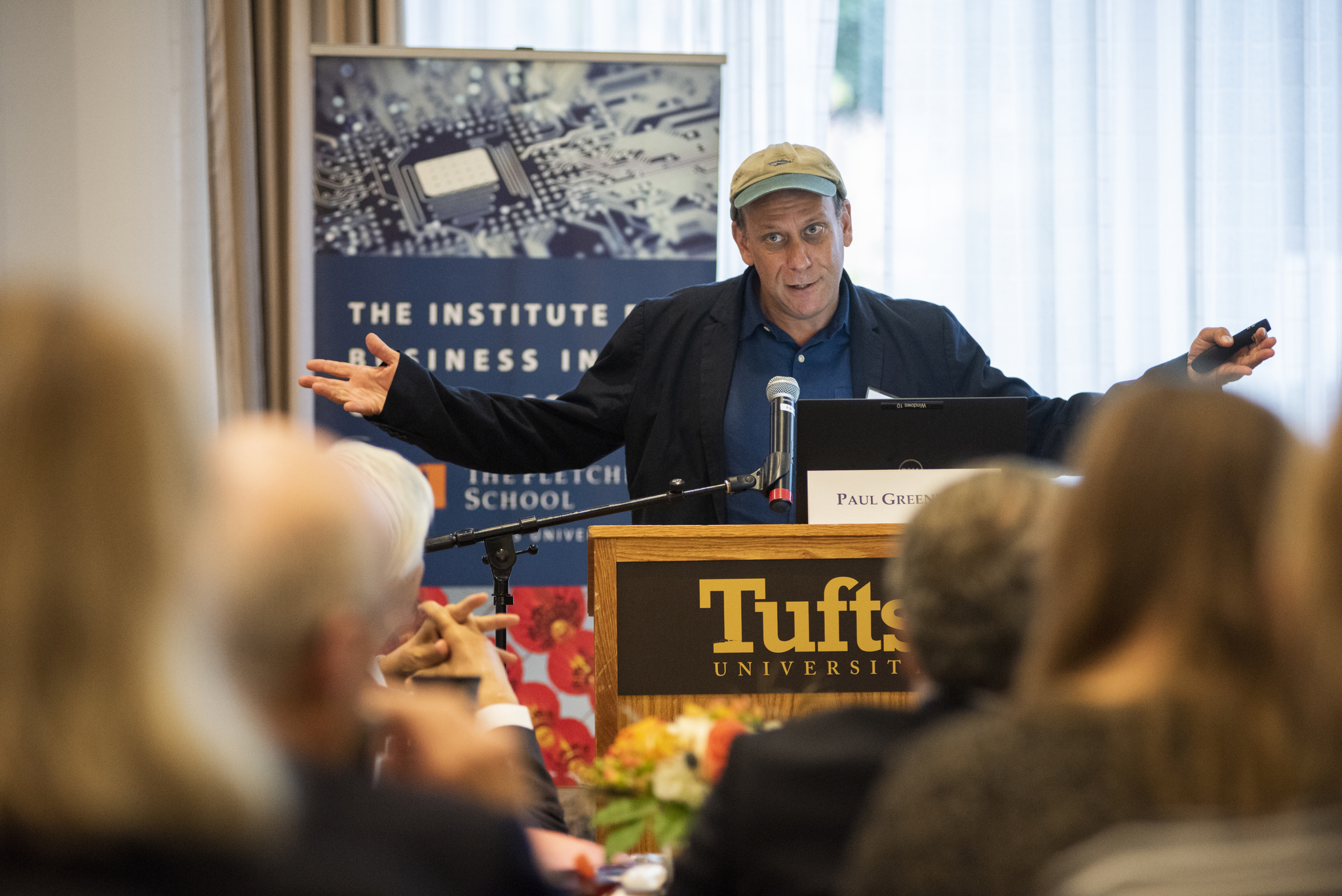 Paul Greenberg Ocean's Turn? Conference