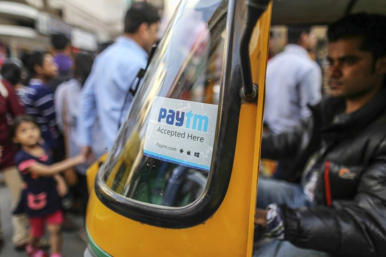 PayTM on Tuktuk