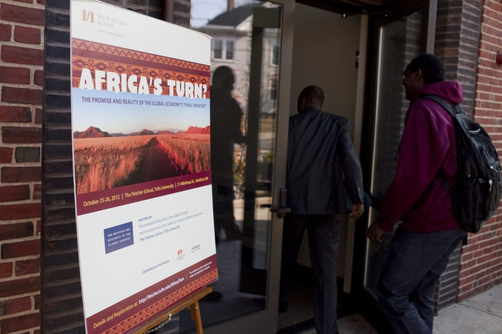 Africa's Turn? Poster outside